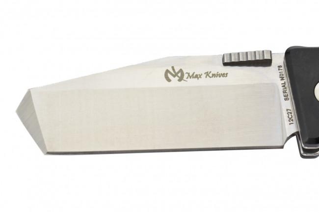 Max Knives MK115B - Lame Tanto en acier 12C27