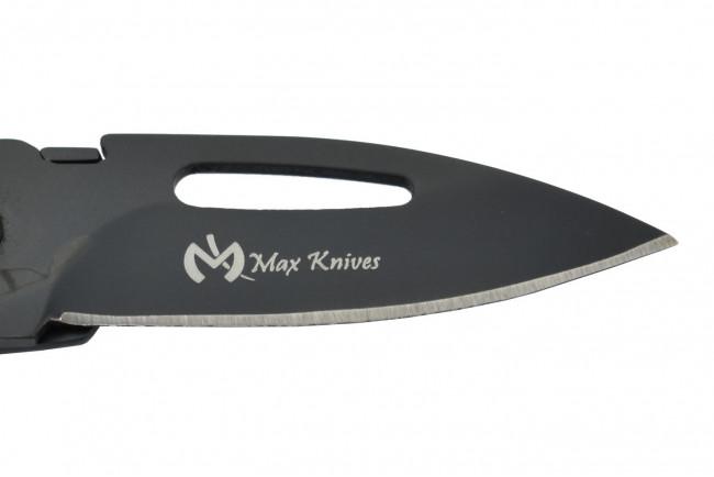 Max Knives MK117B - Couteau porte-clés - Noir