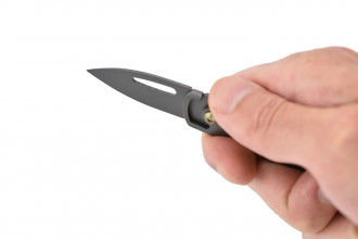 Max Knives MK117G - Couteau porte-clés - Gris