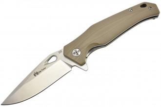 Maxknives MK130-G10T Lame acier D2 manche G10 brun