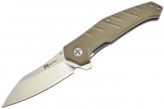 Maxknives MK132-G10T Lame acier D2 manche G10 brun