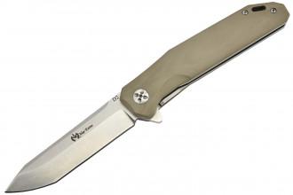 Maxknives MK133-G10T Lame acier D2 manche G10 brun