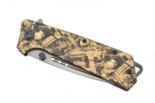 Maxknives MK142 Couteau pliant ouverture assistée acier 3Cr13 et aluminium