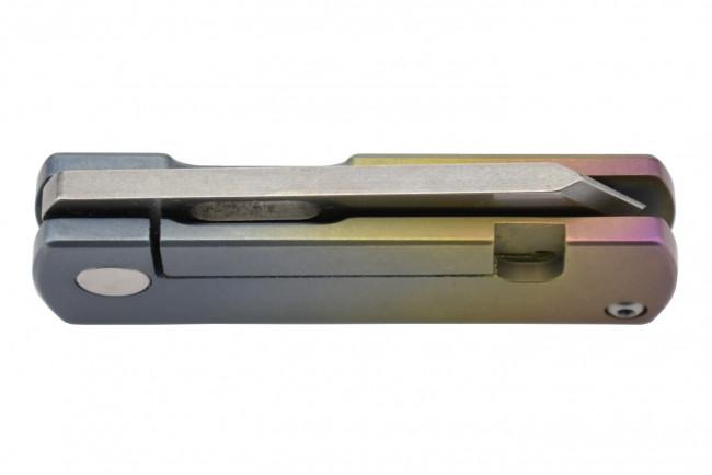 Maxknives MK150 Mini couteau en titane anodisé