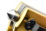 Maxknives MK156 Couteau à ouverture assistée poing américain US1918 aluminium doré