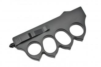 Maxknives MKO13B1 Couteau automatique poing américain 1918 lame acier manche zinc aluminium