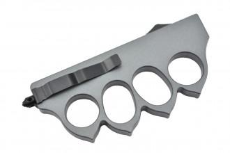 Maxknives MKO13G1 Couteau automatique poing américain 1918 lame acier manche zinc aluminium