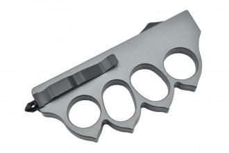 Maxknives MKO13G2 Couteau automatique poing américain 1918  lame acier manche zinc aluminium