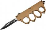 Maxknives MKO13T2 Couteau automatique poing américain 1918 lame acier manche zinc aluminium