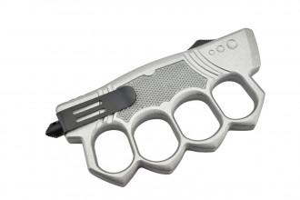 Maxknives MKO14S1 Couteau automatique poing américain lame acier manche zinc aluminium