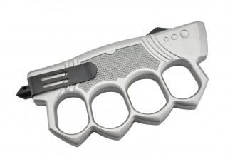 Maxknives MKO14S2 Couteau automatique poing américain lame acier manche zinc aluminium