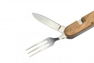 Max Knives P04 OL - Couverts pique-nique - Manche Olivier