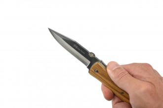 Max Knives P16 OL - PLAINT - Manche en Olivier