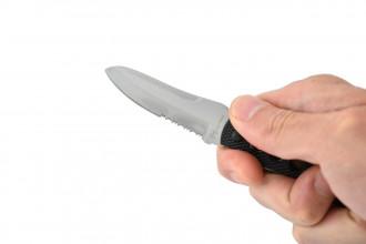 Max Knives P280 T - COUTEAU DE COU - Lame Drop Point