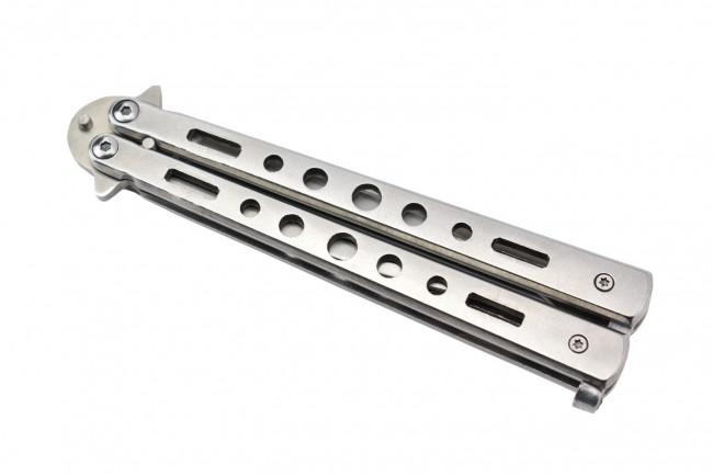 Maxknives P39S Couteau papillon en acier inoxydable