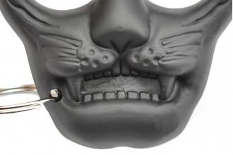 Maxknives PA30 - Poing américain en plastique tête de chat à 2 doigts