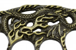 Maxknives PA35 Poing américain à 4 doigts serpent-dragon