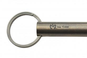Maxknives Tube impact tool 100% titane finition stonewash